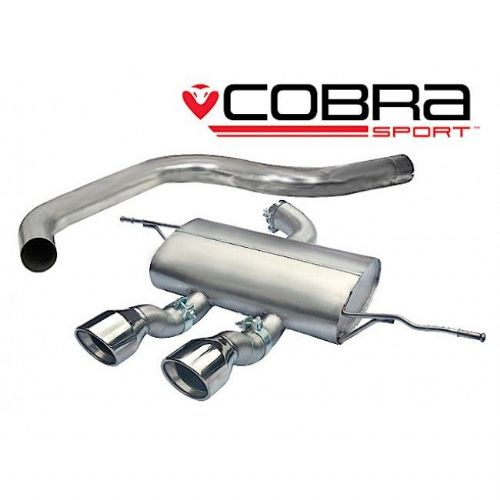 Seat Leon Cupra R Cat Back Exhaust (Non-Resonated) SE27